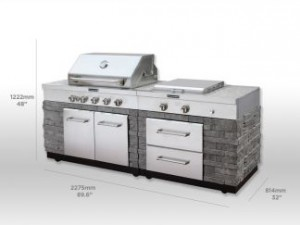 prefab outdoor kitchens under $4,500 | the urban backyard