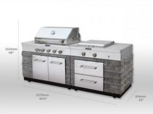 Prefab Outdoor Kitchens Under 4 500