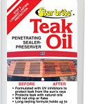 Teak Oil Furniture