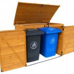 Garbage Can Storage Sheds