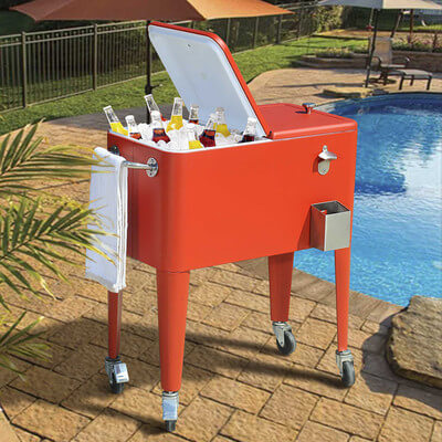 Outdoor Beverage Carts The Urban Backyard