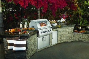 Custom Outdoor Kitchen Island Components