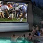 Outdoor Movie Projector Screens