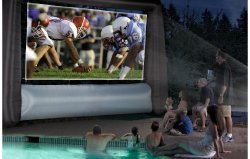 Outdoor Movie Projector Screens