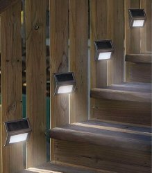 Solar step lights for decks the urban backyard hsol solar deck light aloadofball Choice Image