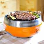 Homping Portable Charcoal Tailgate Grill