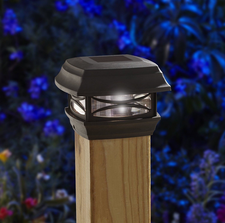 Outdoor Post Cap Lights: Outdoor Patio Lighting Ideas
