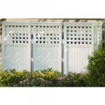 Resin Outdoor Privacy Screen Panels