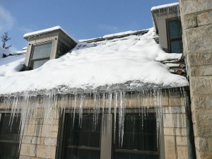Remove Ice Dams Gutters