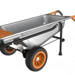 Worx Aerocart Multifunction Wheelbarrow Dolly Cart