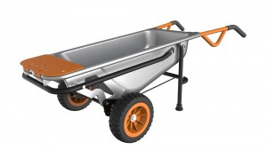 Worx Aerocart Multifunction Wheelbarrow Dolly Cart