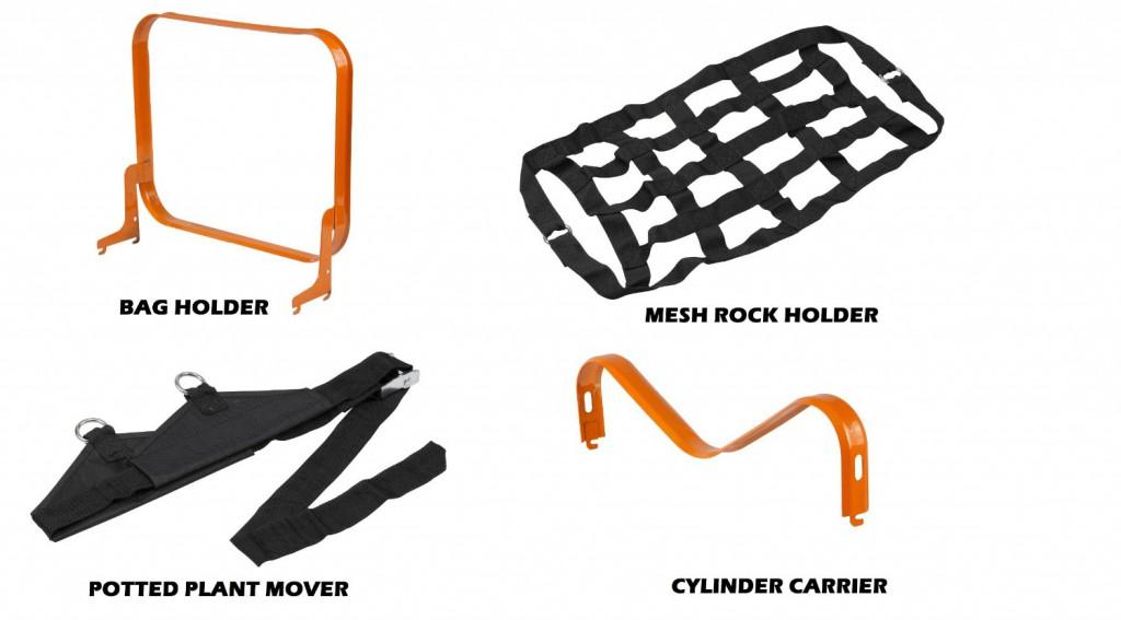 Worx Aerocart Multifunction Wheelbarrow Dolly Cart Accessories