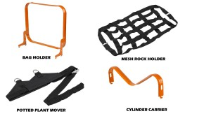 Worx Aerocart Multifunction Wheelbarrow Dolly Cart Accessories