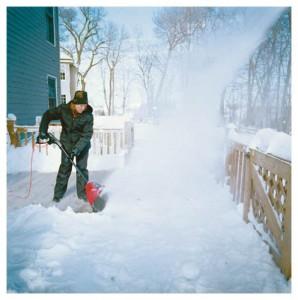 electric snow shovel