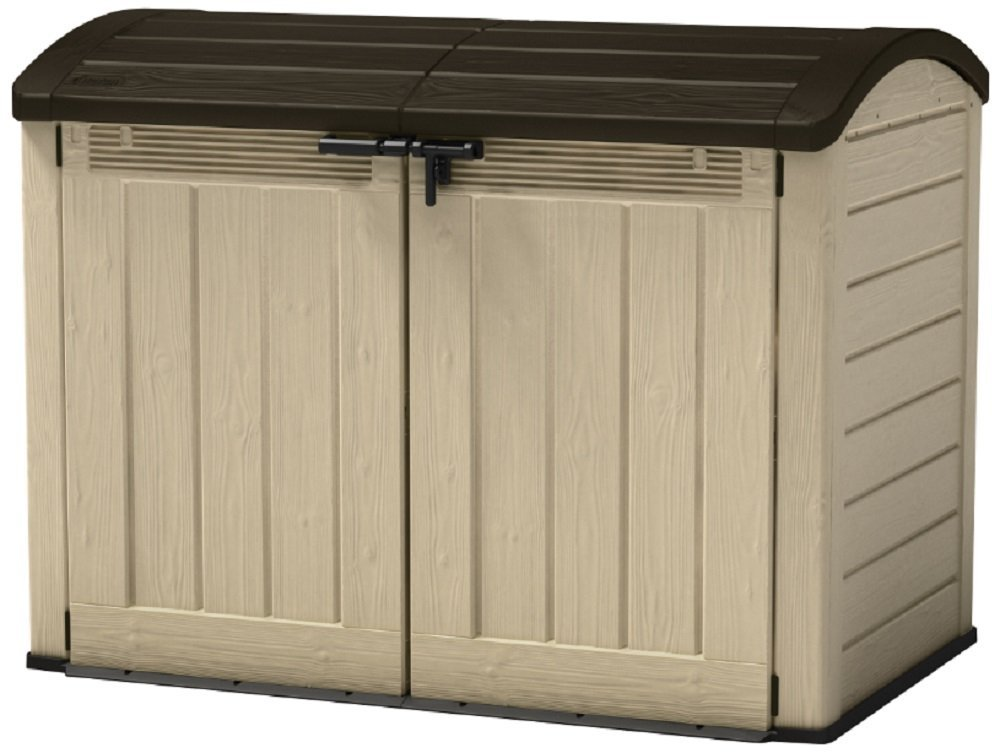 5 best bike storage sheds the urban backyard. Black Bedroom Furniture Sets. Home Design Ideas