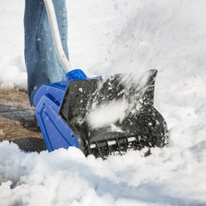 small electric snow blower