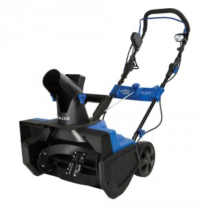 sun joe electric snow thrower