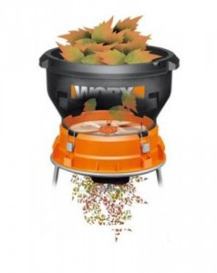 worx electric leaf shredder