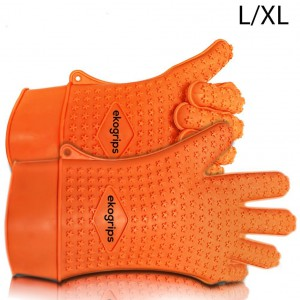 Ekogrips Max Heat Silicone BBQ Grill Oven Gloves